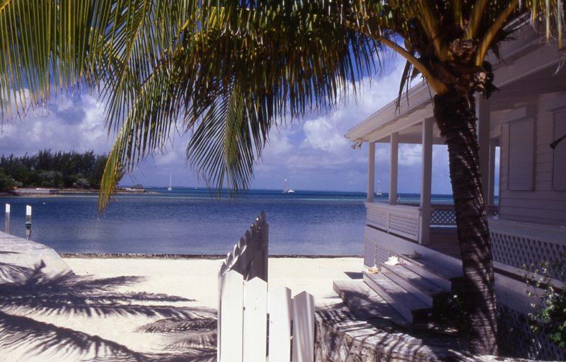 Man-o-war cay, Îles Exuma, Bahamas
