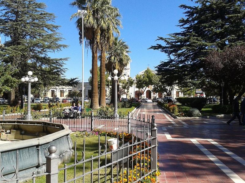 Plaza de Maipú, Mendoza