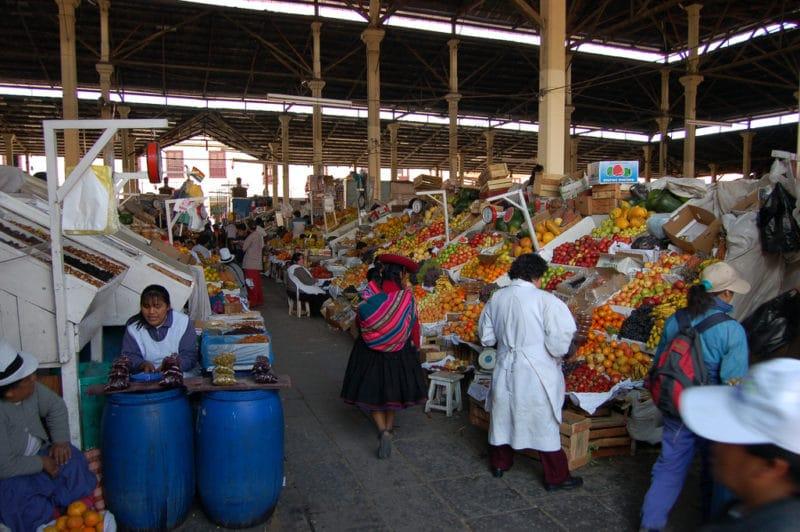 Mercado San Pedro, Cuzco