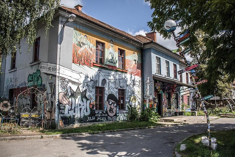 Metelkova, Ljubljana