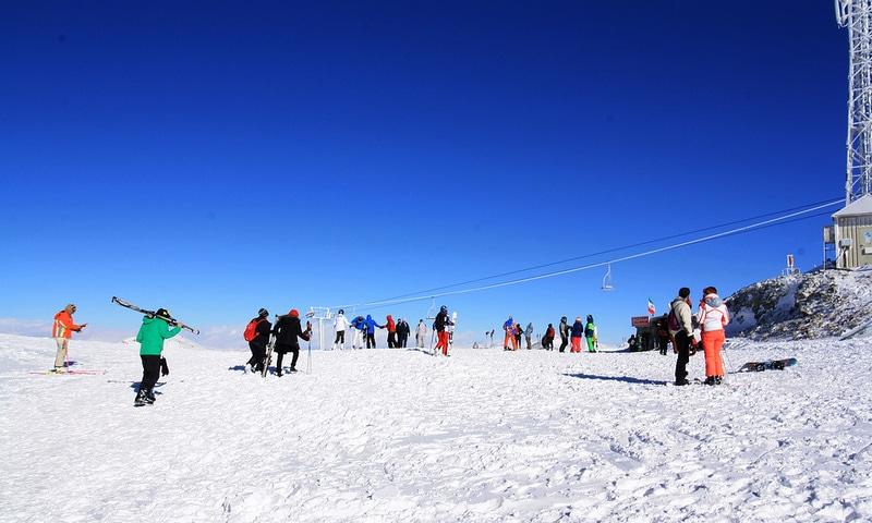 Ski, Tochal, Téhéran