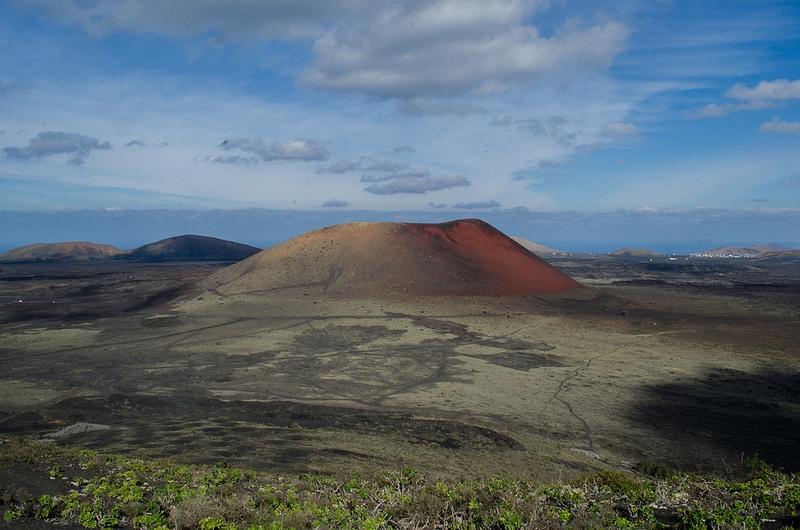 Volcan Montana Colorada, Lanzarote
