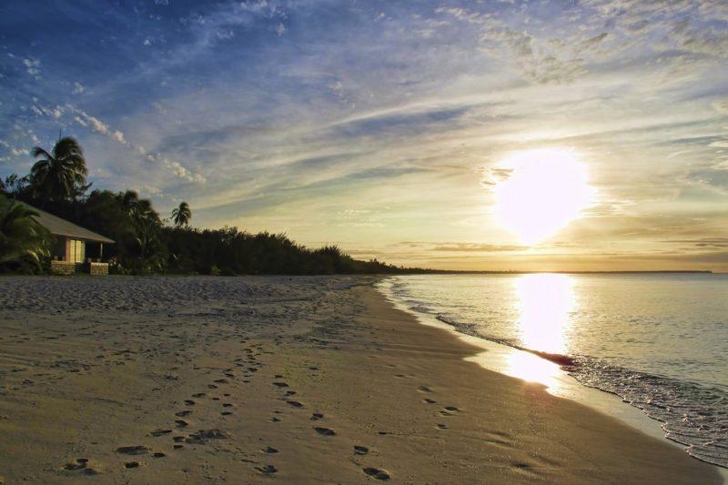 Mouli beach, Île Ouvéa, Nouvelle Calédonie