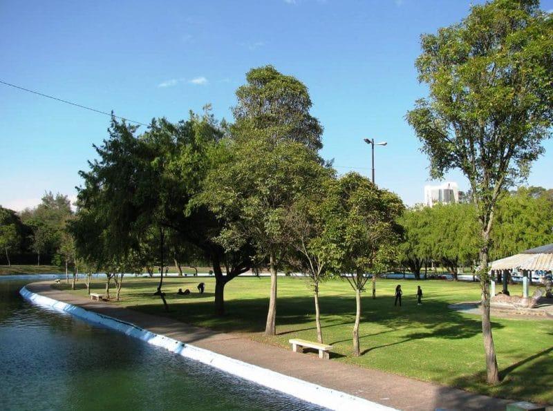 Jardin botanique, La Carolina, Quito