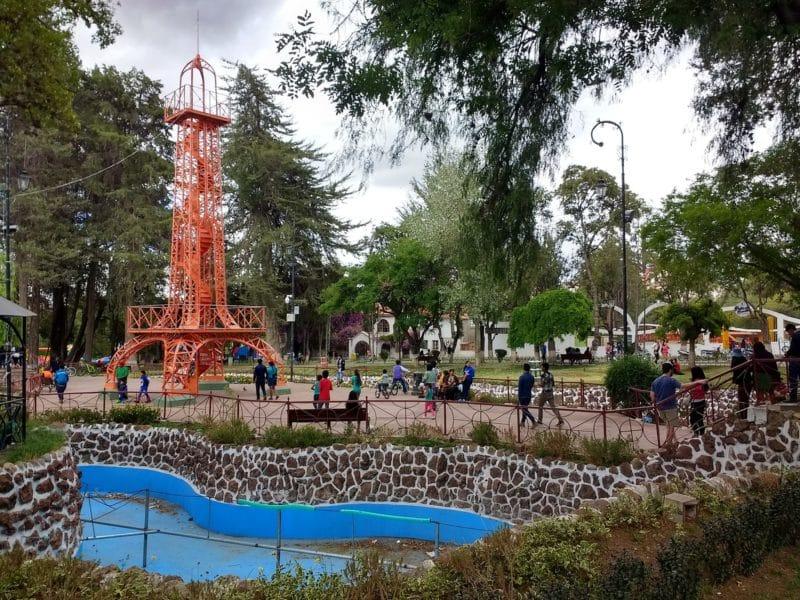 Parque Simon Bolivar, Surapata, Sucre
