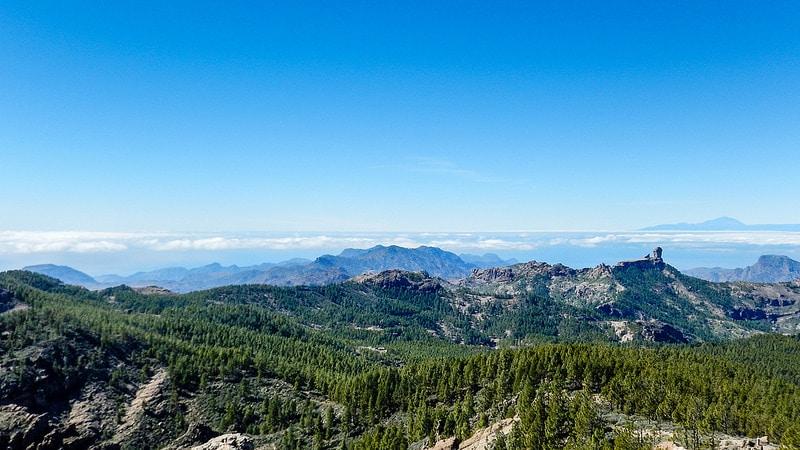 Pico de las Nieves, Grande Canarie