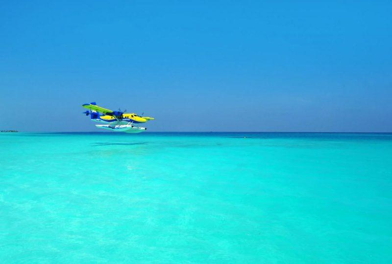 Tour en hydravion, Maldives
