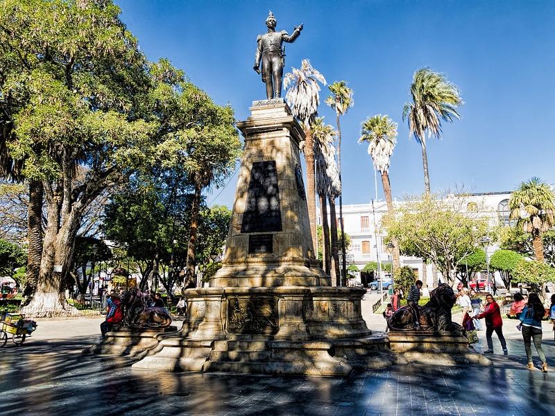 Centre historique, Plaza 25 de Mayo, Sucre