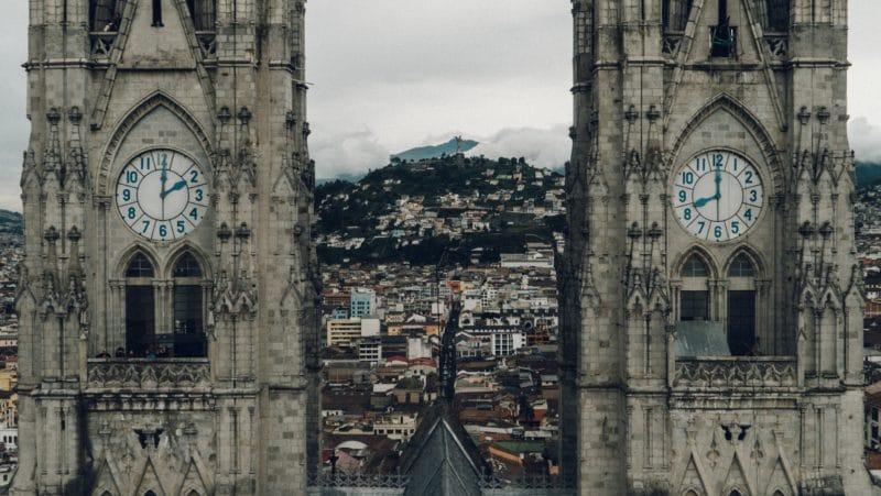Basilica del Voto Nacional, centre-ville, Quito