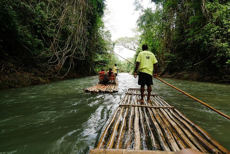 Bamboo Rafting, Jamaïque