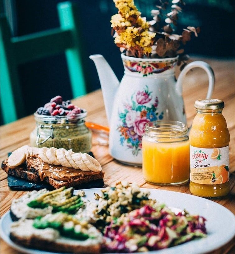 Restaurant vegan à Lisbonne, Foodprintz