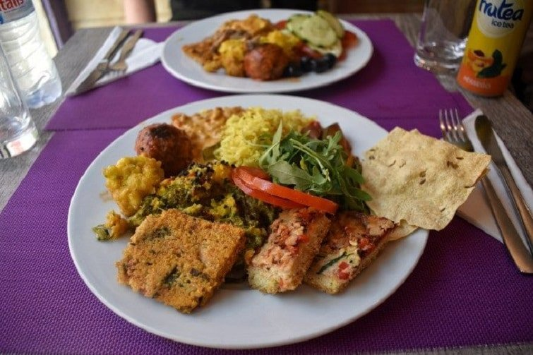 Restaurant vegan à Lisbonne, Jardim das Cerejas