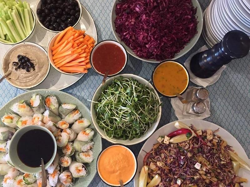 Restaurant vegan à Lisbonne, Jardim dos Sentidos