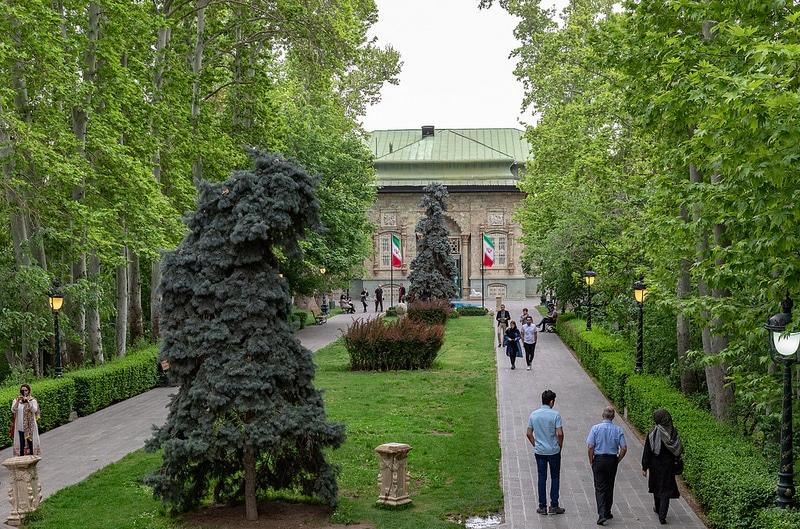 Palais Sa'dabad, Téhéran