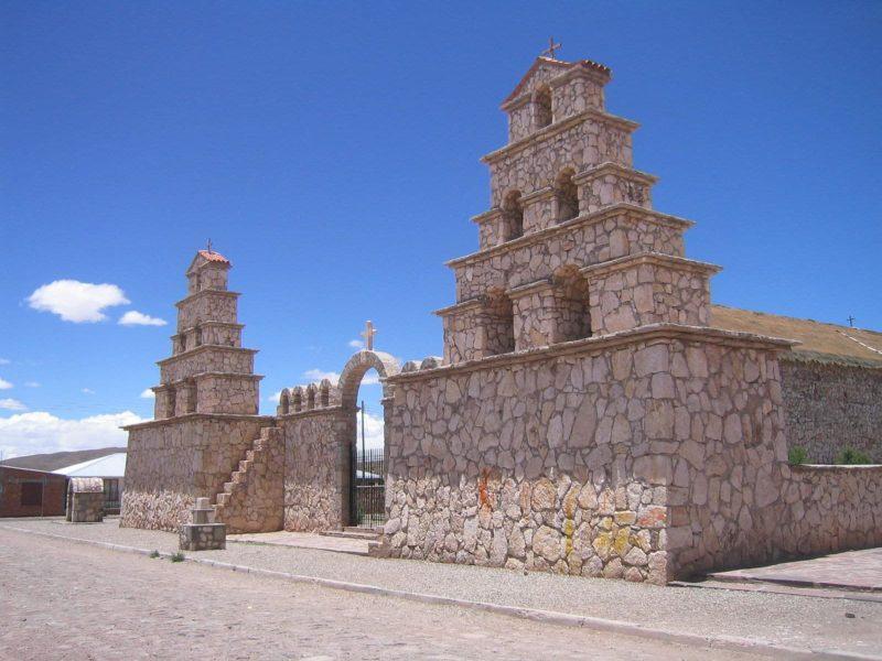 Eglise San Cristobal, San Pedro, Potosi