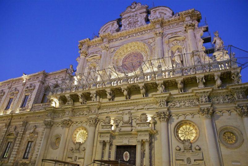 Basilique Santa Croce, Lecce