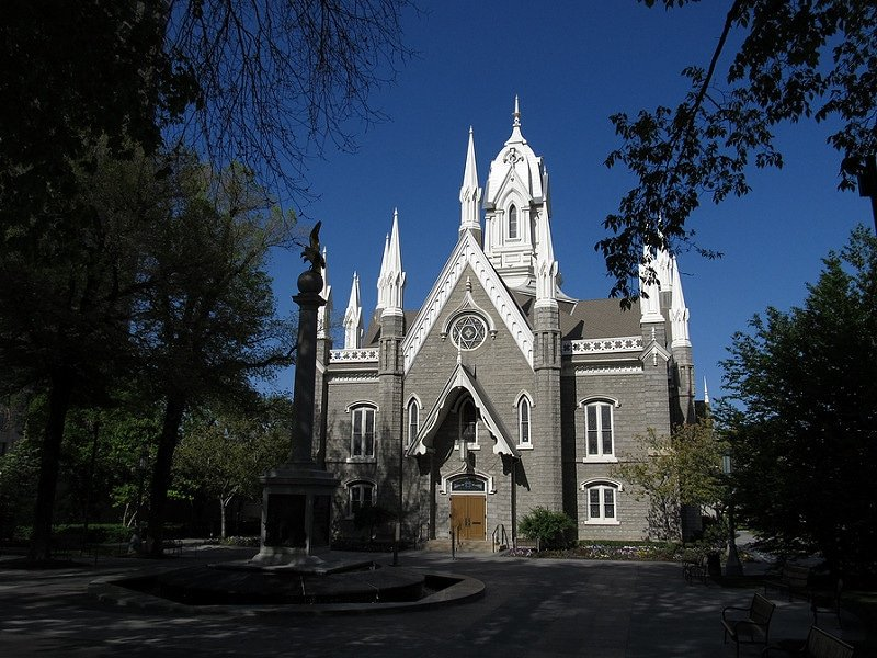 Monument aux mouettes, Salt Lake City