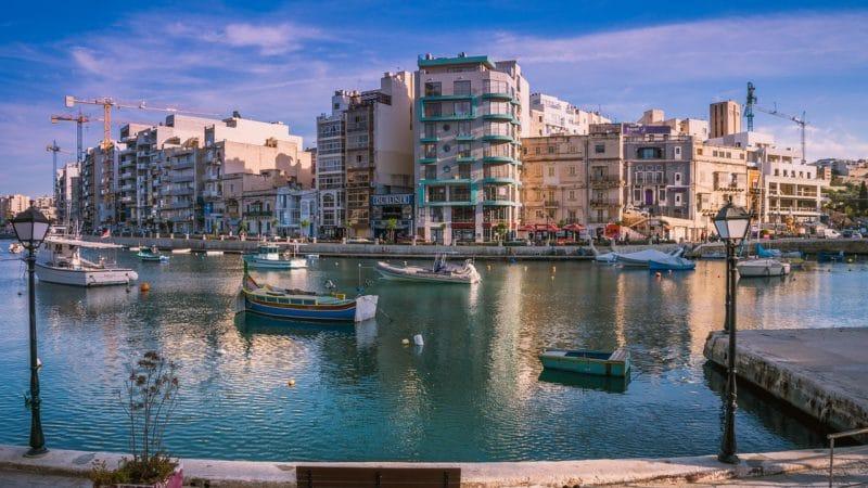 Sliema, La Valette, Malte