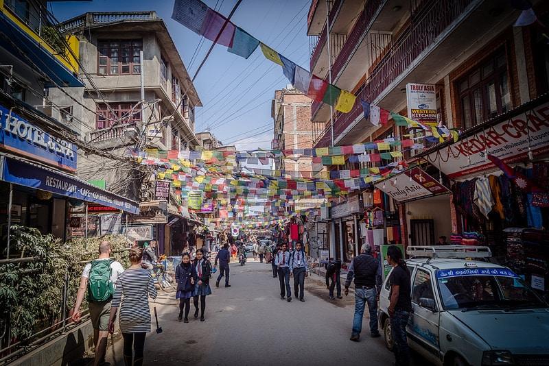 Quartier Thamel, Katmandou