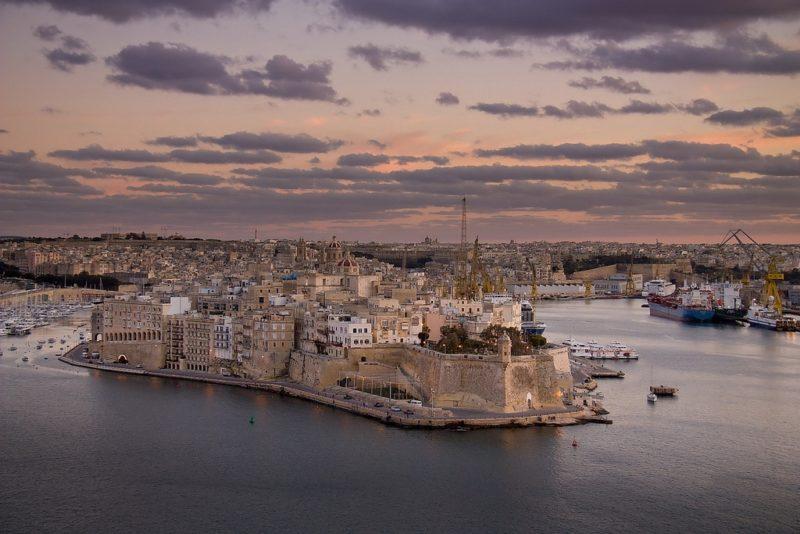Les Trois Cités, Malte