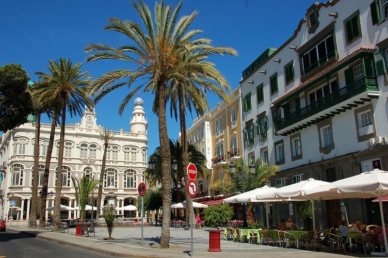 Quartier Triana, Las Palmas, Grande Canarie
