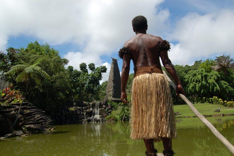 Visite d'un village, Fidji