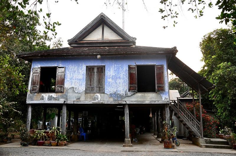 Maison, Wat Kor, Battambang