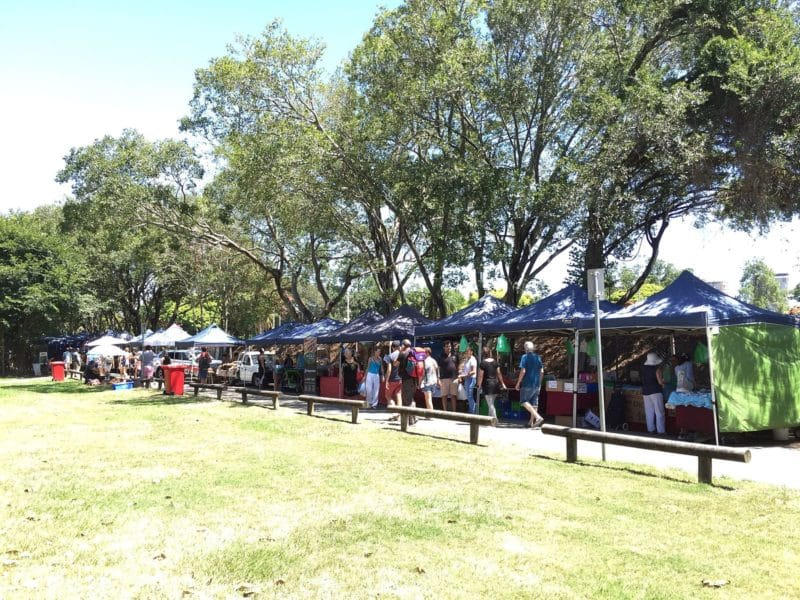 West End Market, Davies Park, Brisbane