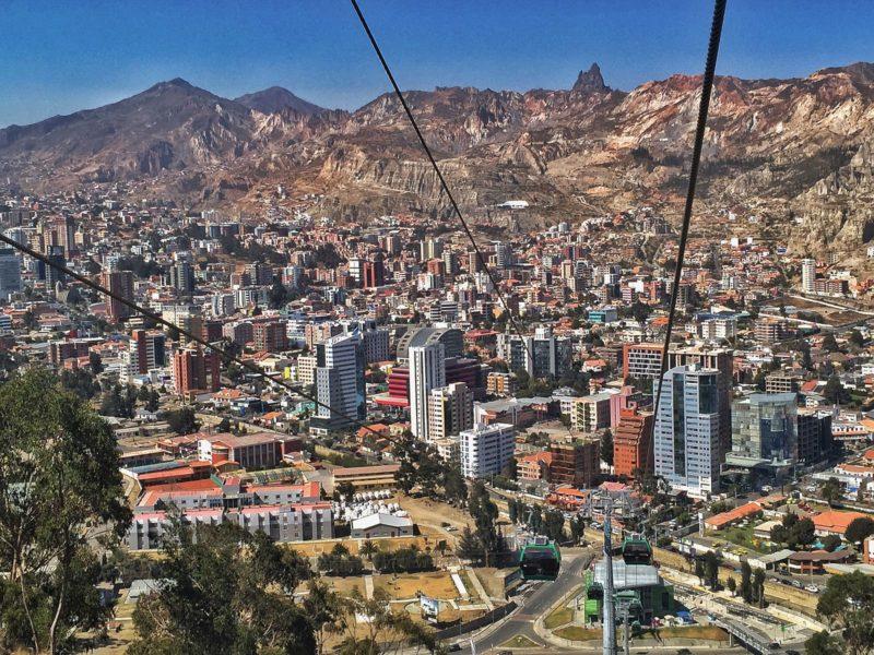 Vue sur Zona Sur, La Paz, Bolivie