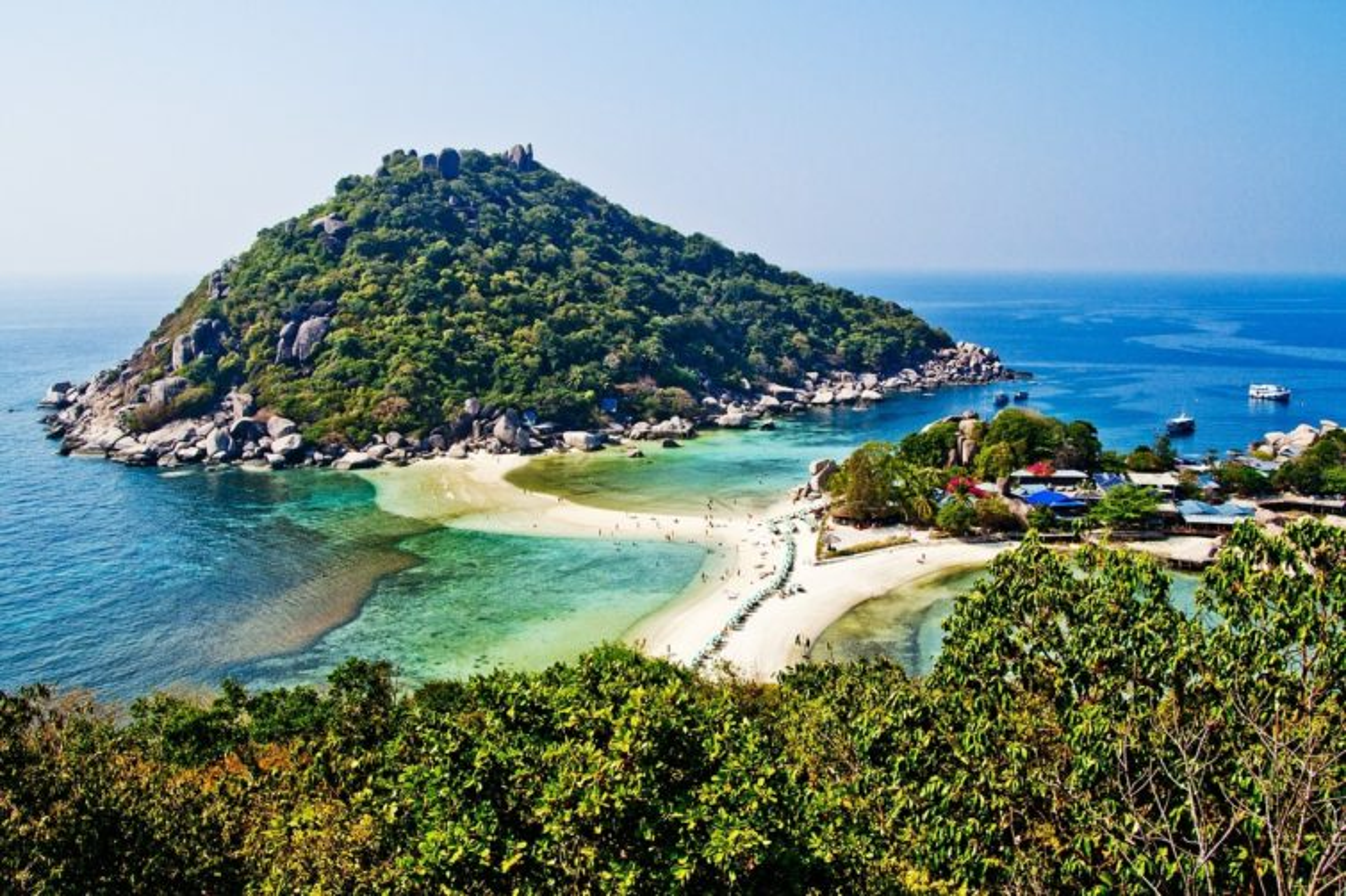 Plongée au spot de Koh Nang Yuan en Thaïlande