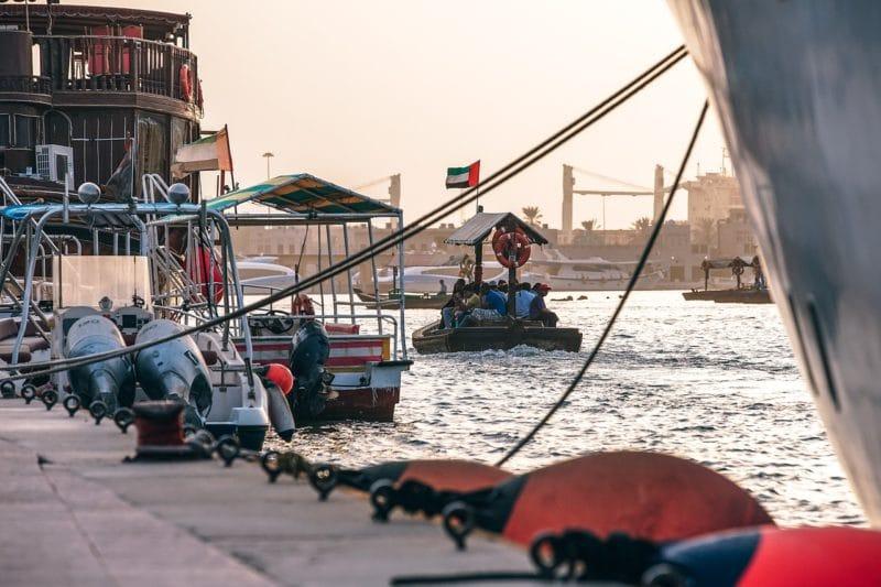 Abra, bateau taxi, Dubaï