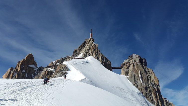 Aiguille du Midi au Mont-Blanc