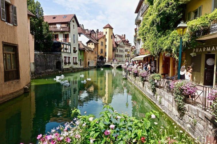 Vieux-centre, loger à Annecy