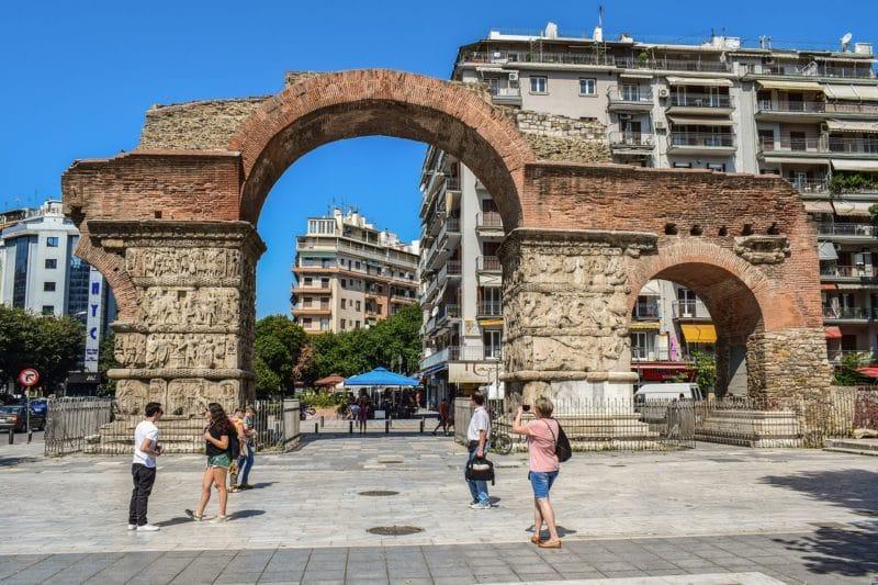 Arc de Galère, Thessalonique