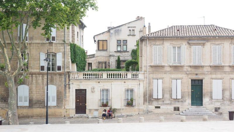 Intra-muros, centre historique, Avignon