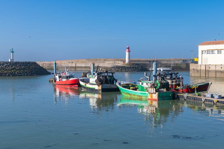 Visiter et louer un bateau sur l'île d'Oléron