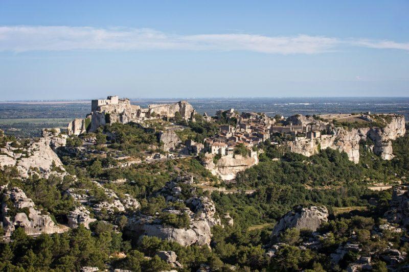 Baux-en-Provence, village