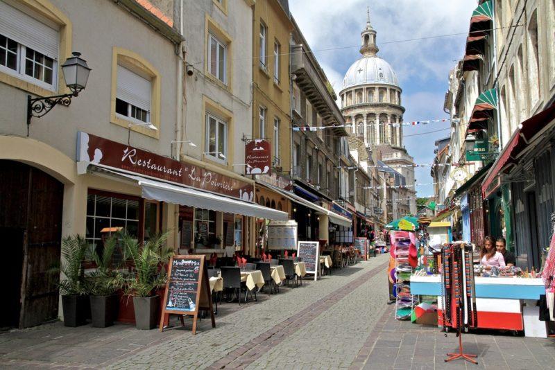 Centre historique, Rue de Lille, Boulogne-sur-Mer