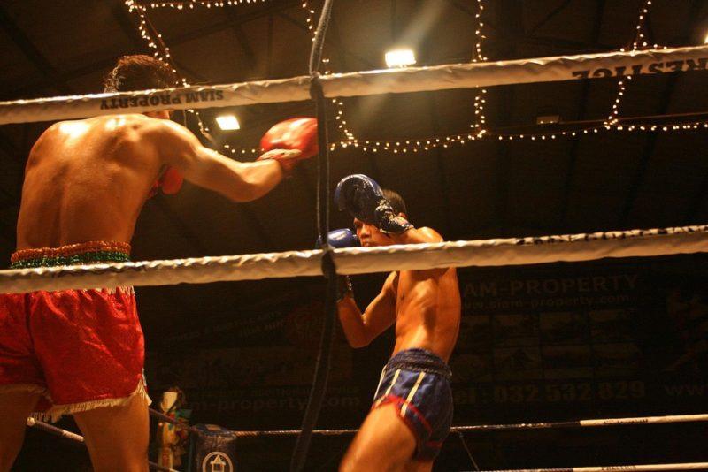 Match de boxe thaï, Koh Samui