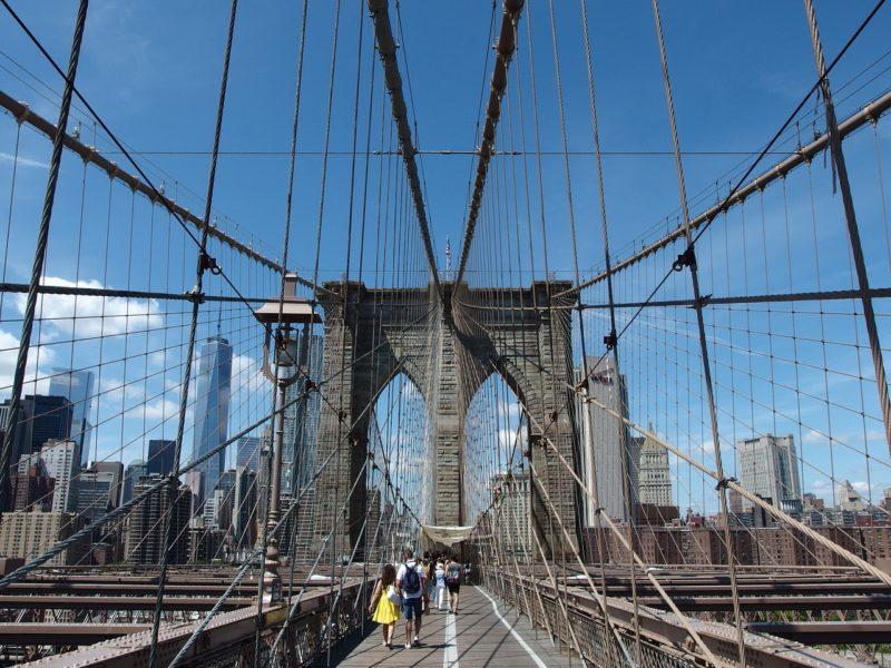 Pont de Brooklyn, Brooklyn Bridge, New-York