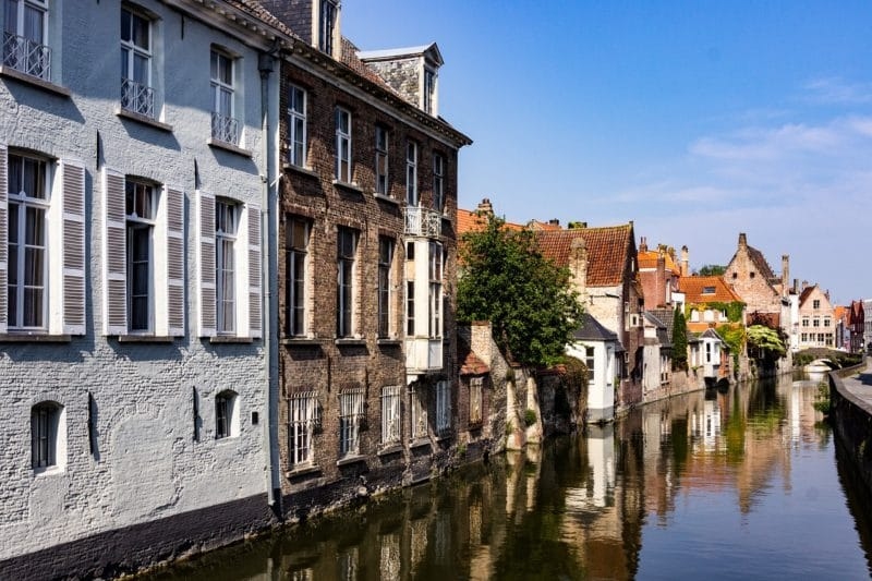 Visiting Bruges on foot