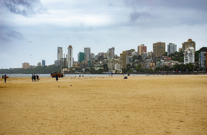Plage de Chowpatty, Mumbai