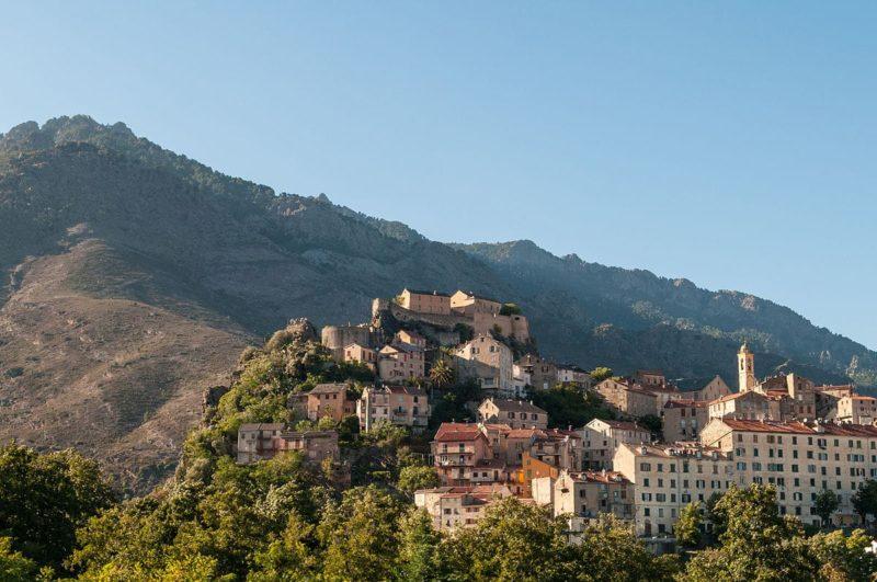 Nord de Corte, Corse