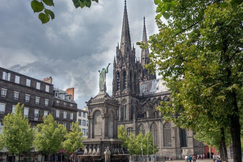 Vieux Clermont, centre-ville, Clermont Ferrand