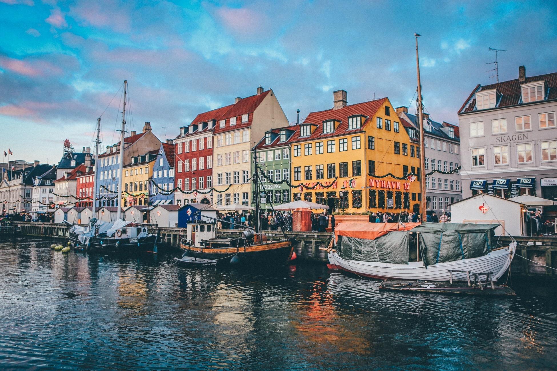 Billets d'avion A/R vers Copenhague dès 40€/personne