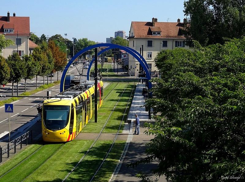 Tram, Mulhouse