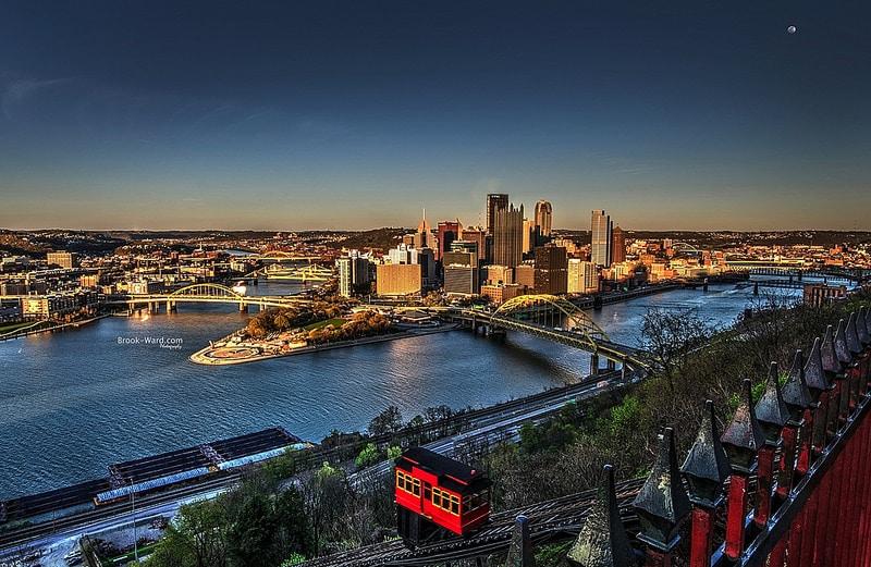 Duquesne, skyline, Pittsburgh