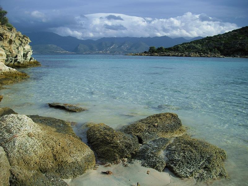 Plage de Fiume Santu, Saint-Florent, Corse
