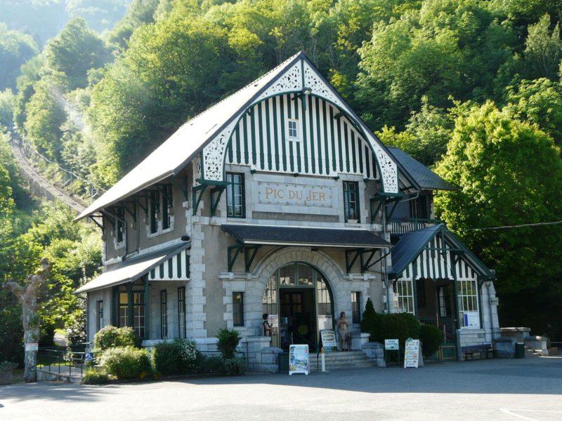 Funiculaire du Pic du Jer, Lourdes
