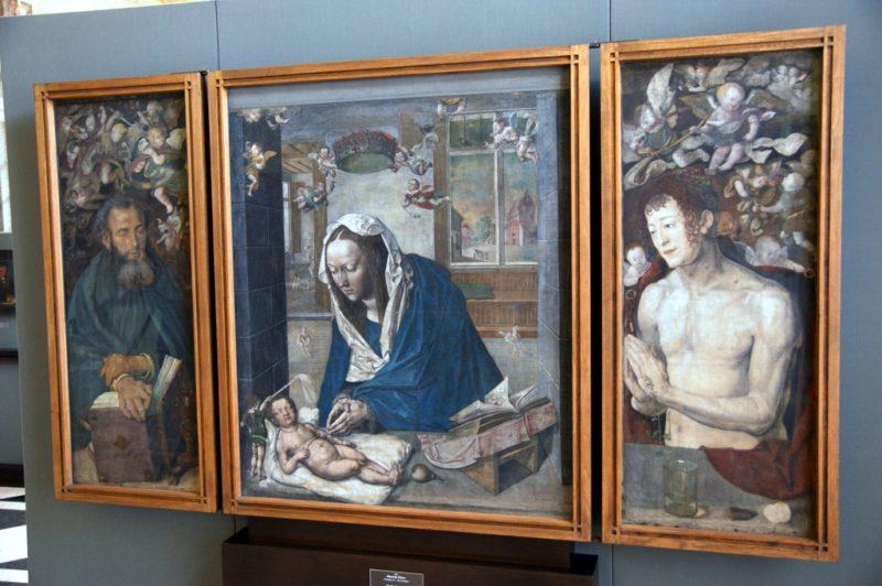 Musée Gemäldegalerie Alte Meister, Dresde